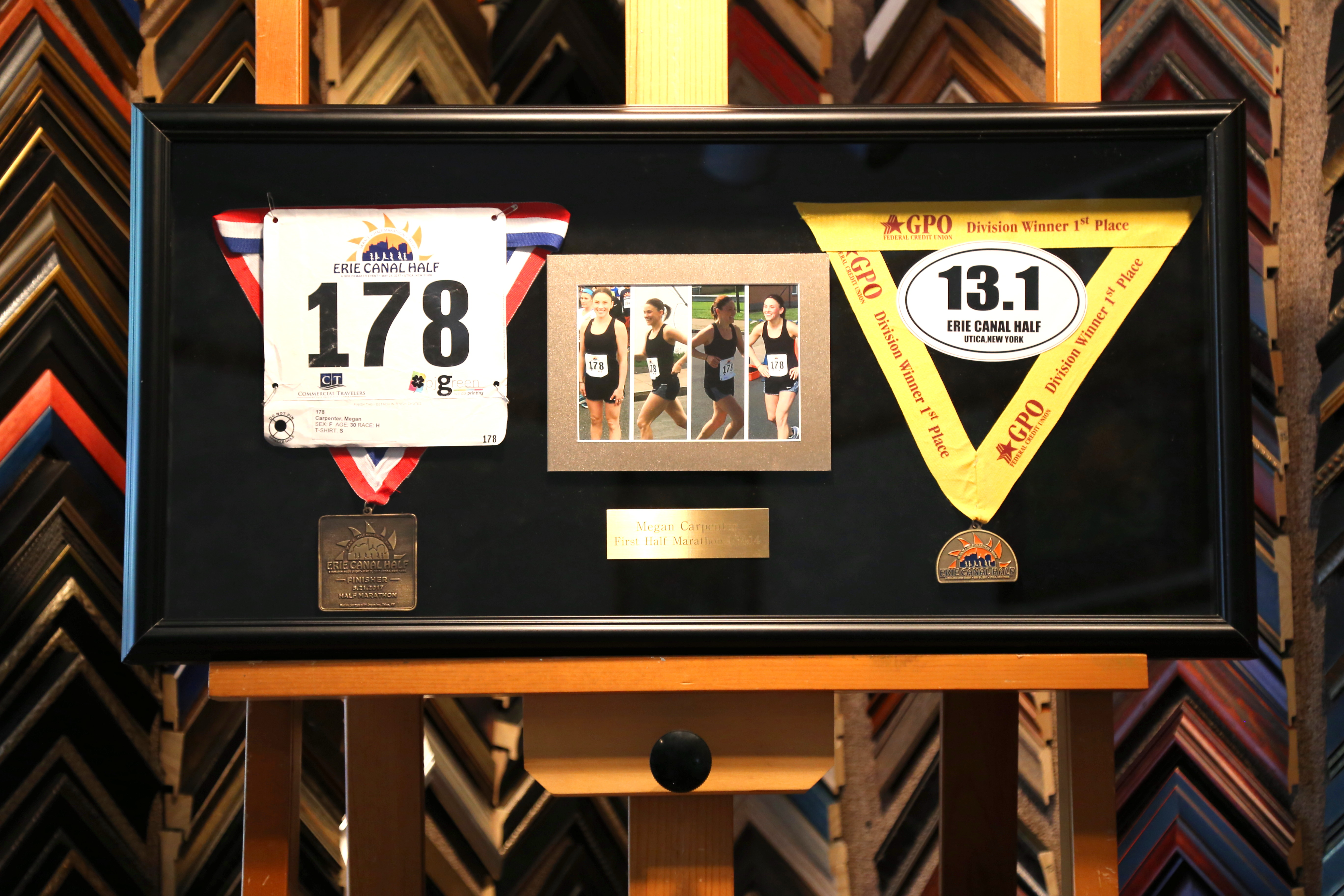 Runners Shadow Box